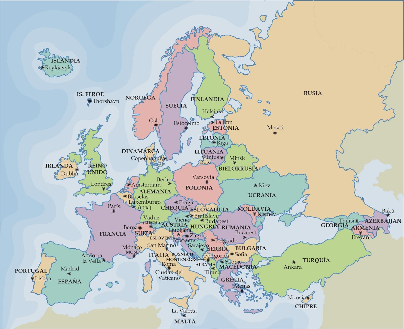 Mapa Europa Totalitaria
