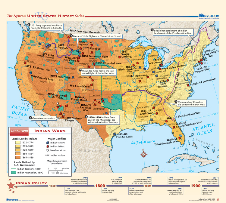 List of American Indian Wars