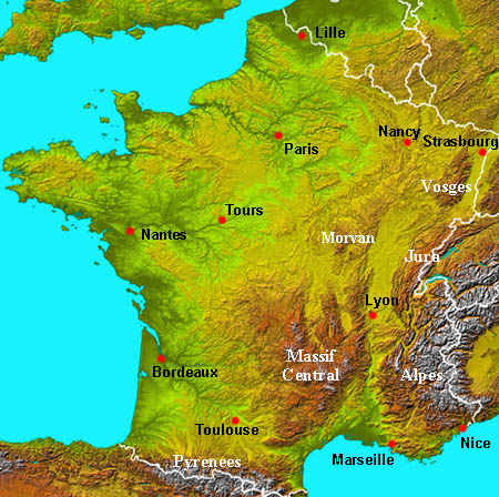 Remix of France Map ThingLink