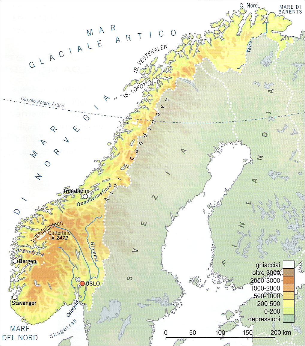 Cartina Politica Norvegia.La Penisola Scandinava Lessons Blendspace