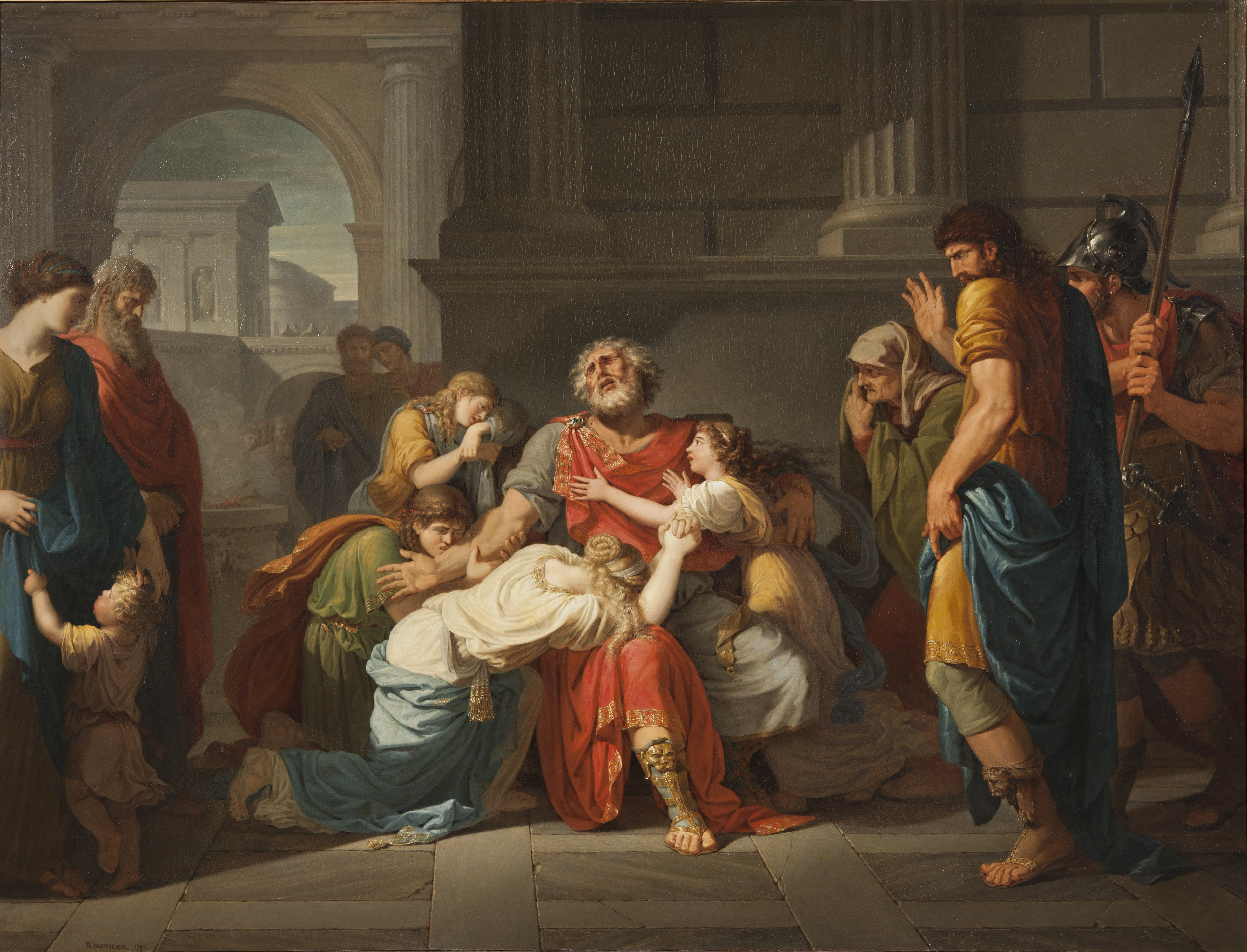 the depiction of heroic characters in antigone and oedipus the king by sophocles