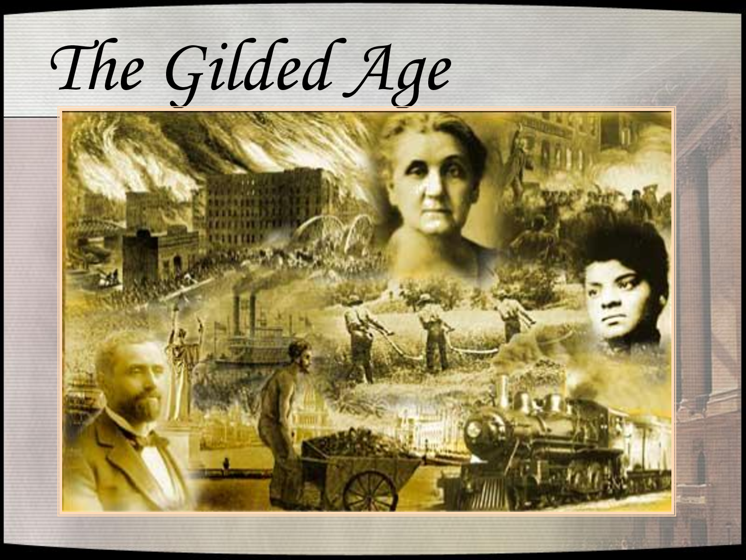 apush gilded age Period 6: 1865-1898 timeline documents videos key concept 63: the gilded age produced new cultural and intellectual movements, public reform efforts.