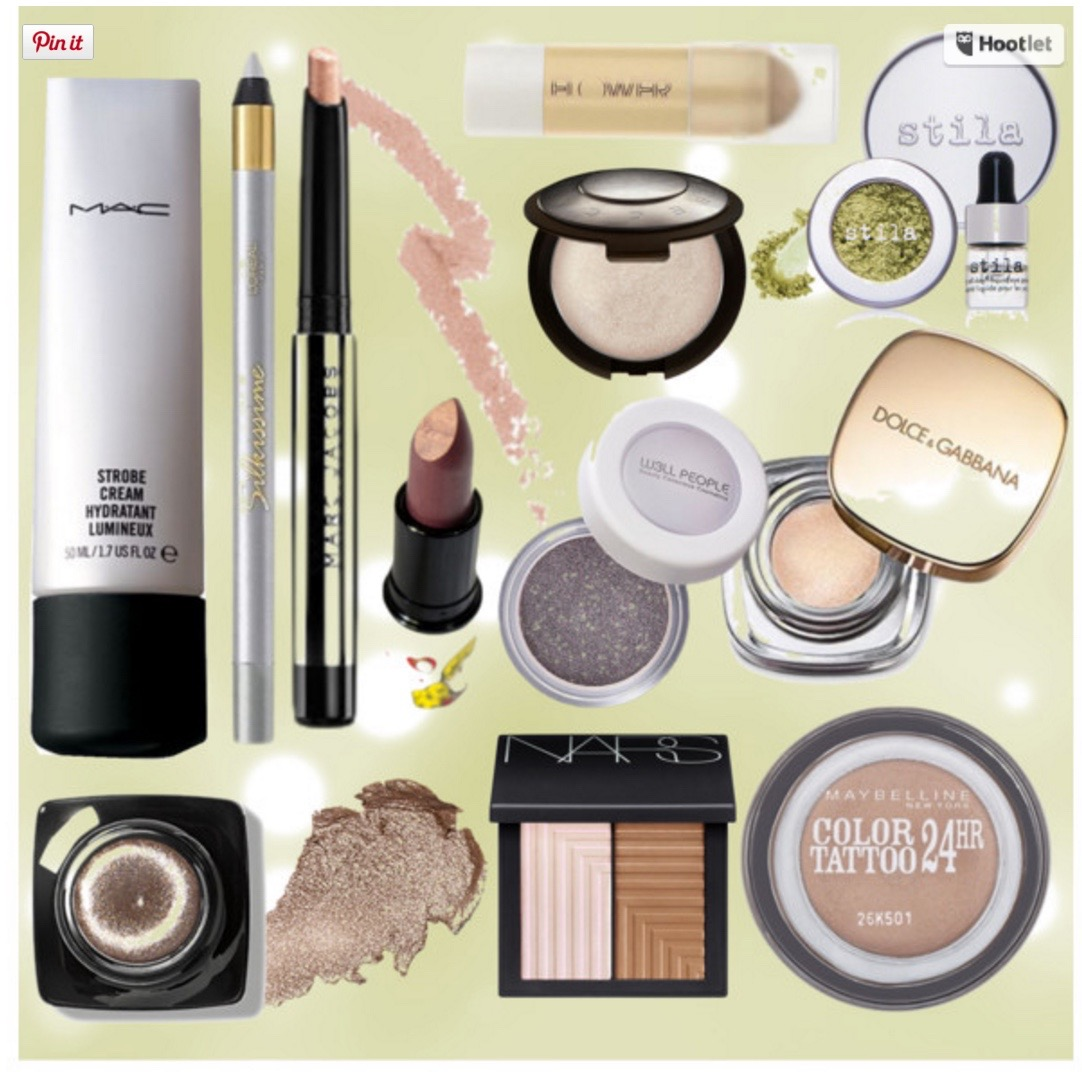 Becca Highlighter, MAC Strobe Cream, L'oreal HIP Silver C ...
