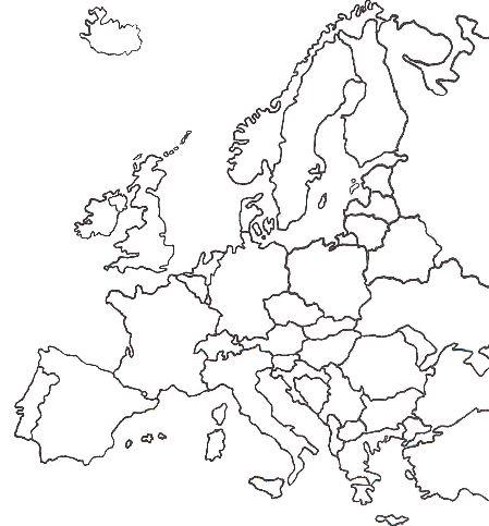 Mapa Europa Mut  My blog