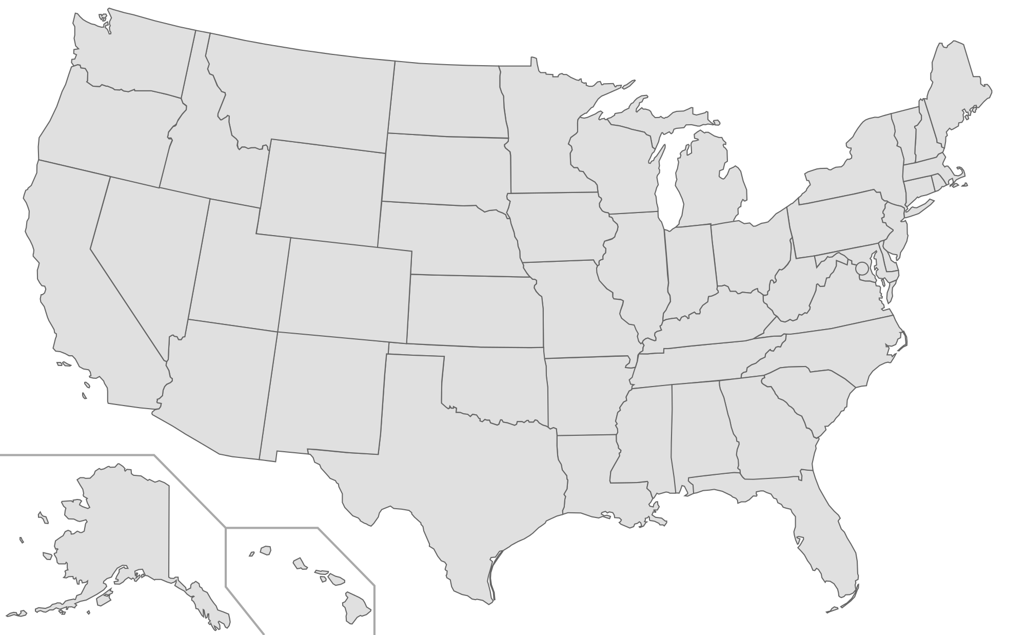 FileBlank US Map With Labelssvg Wikimedia Commons - Outline map of us states