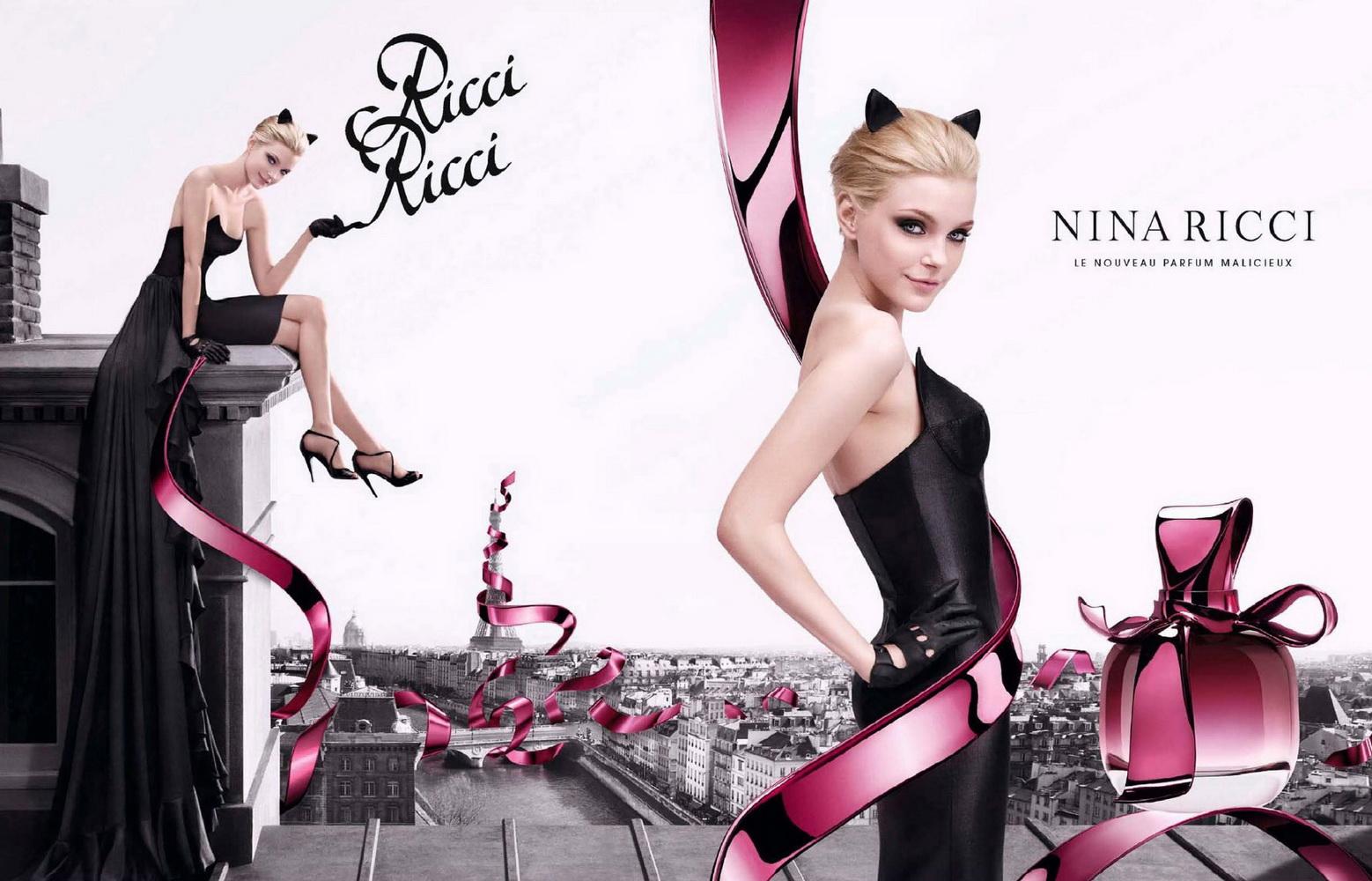 Analyse d'une publicité : Ricci Ricci de Nina Ricci