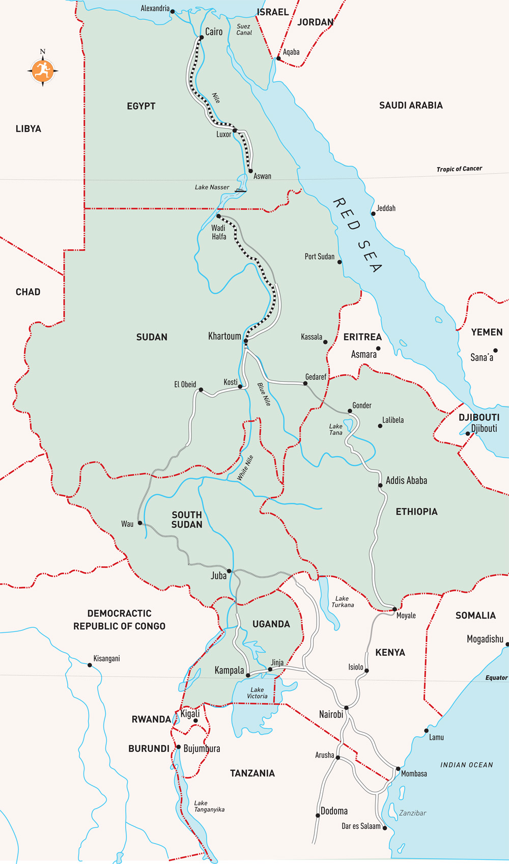Great Rivers Of The World - The Nile