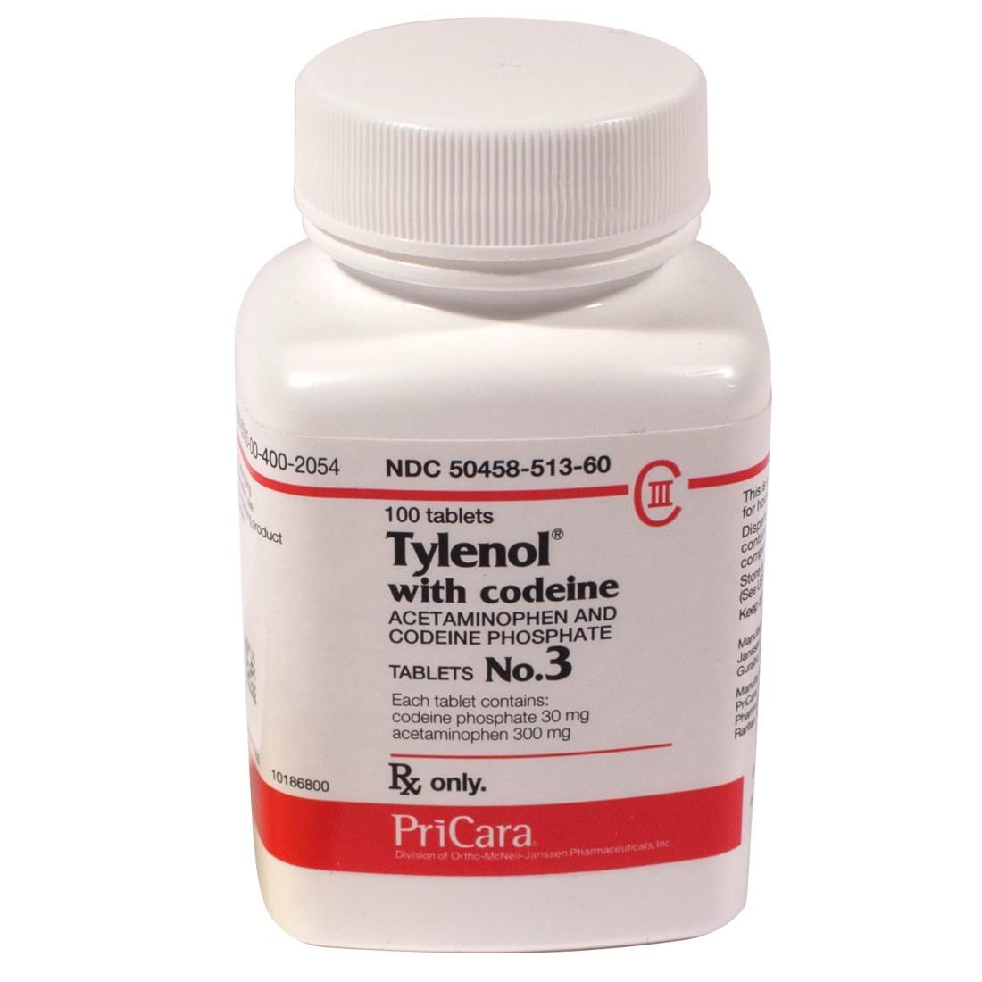 Tylenol With Codeine Dosage