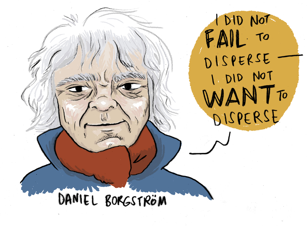 Susie Cagle on Cartooning the Occupy Movement, Being Arrested cartoons
