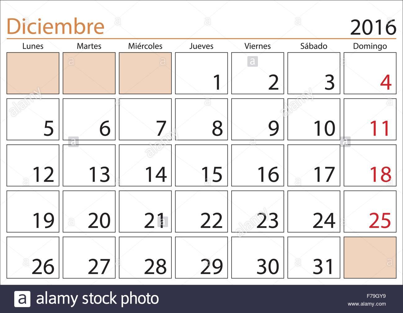 Calendario 1978 Mexico.Mexican Calendar Deciembre