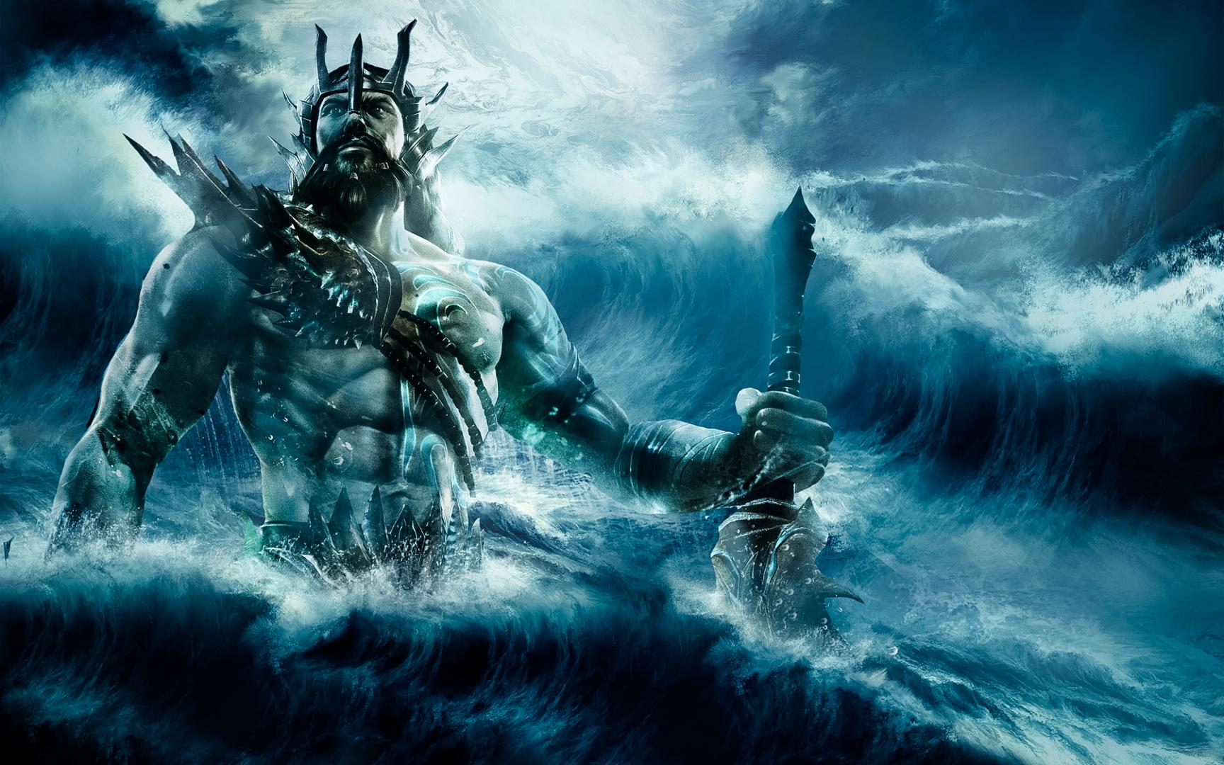 poseidon the god of the sea