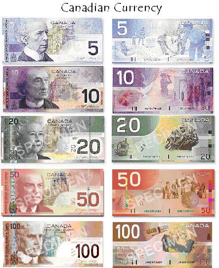 Currency Canadian Dollar