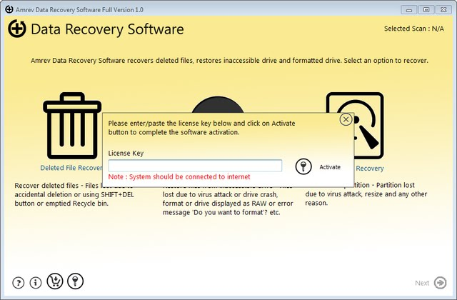 Format data recovery software full version