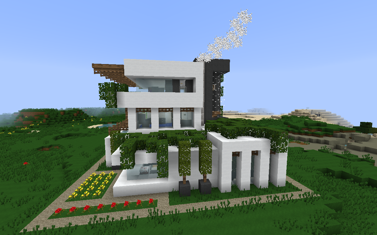 Minecraft modern house tips