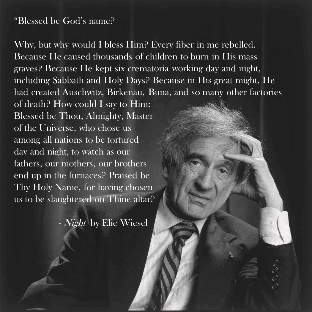 Night By Elie Wiesel Quotes Brilliant Elie Wiesel Night  Thinglink