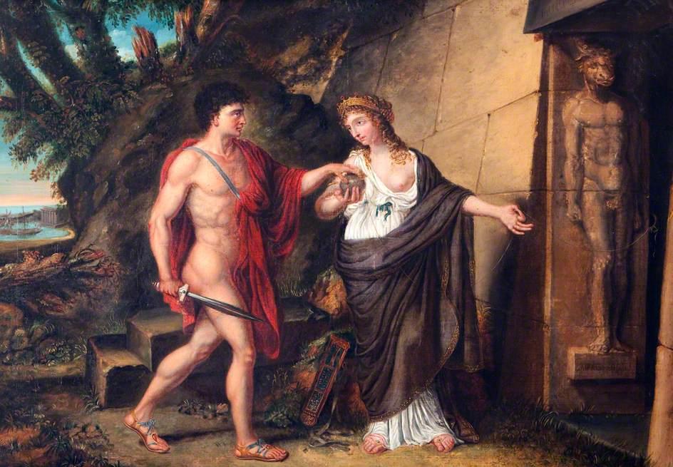 Theseus and Ariadne - ThingLink