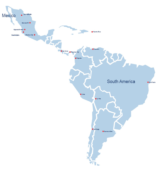 Ben Stone Wyatt Latin America Map