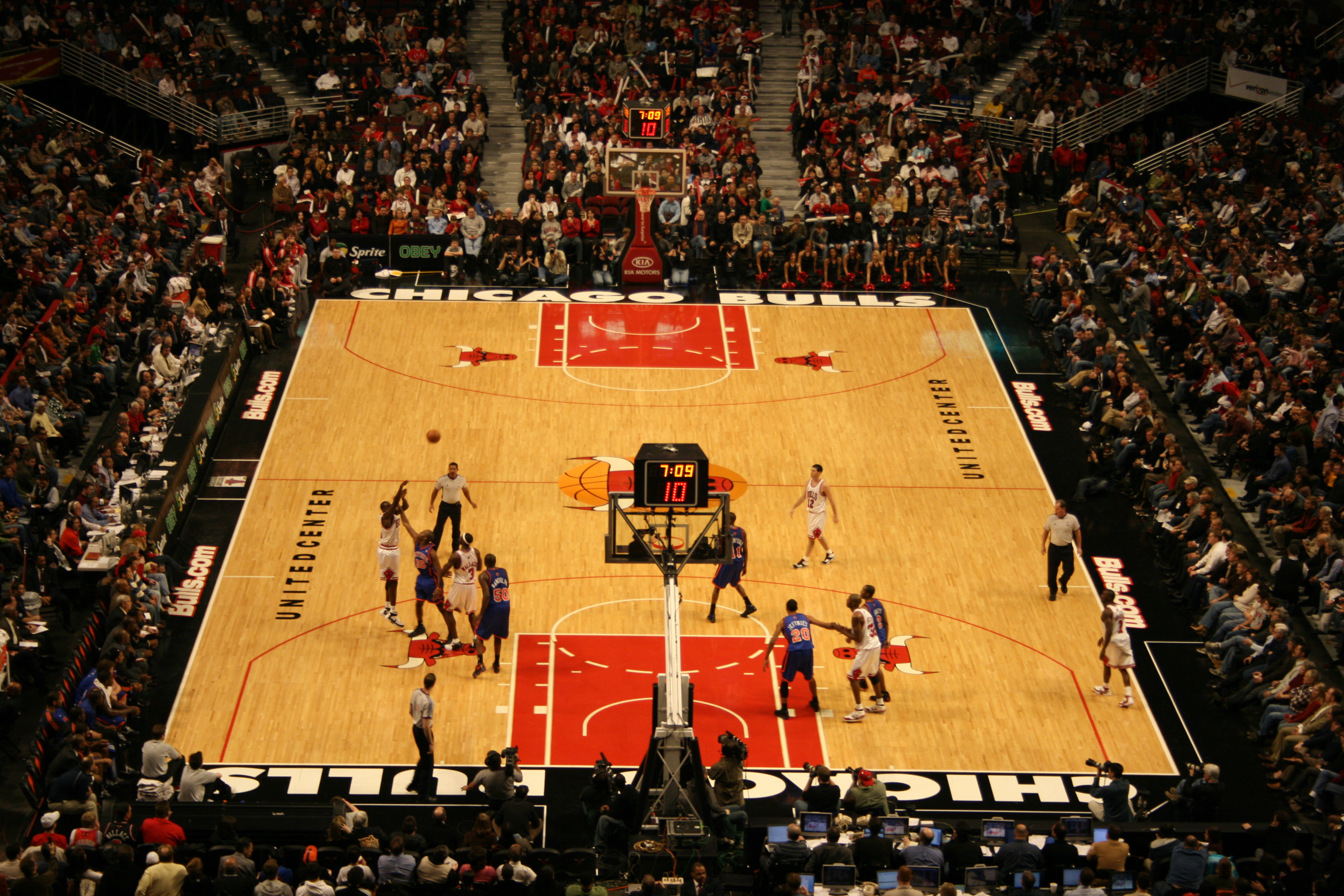 Nba basketball court pictures