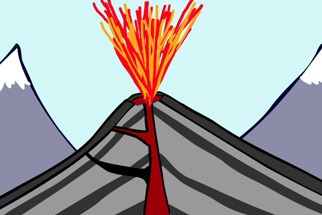 Volcano diagram thinglink ccuart Image collections