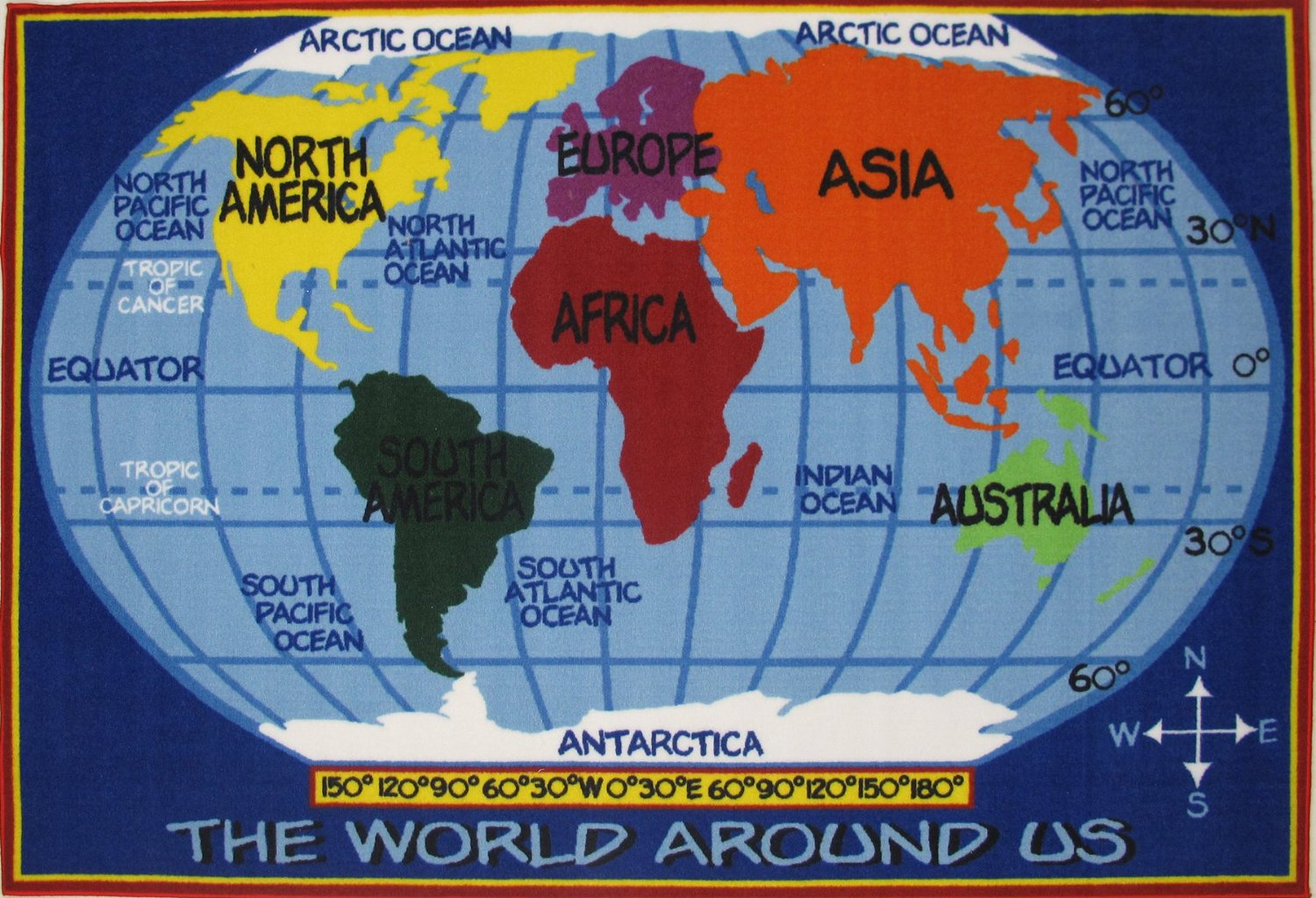 Kid friendly world map googlesagy map child friendly blank world map gumiabroncs Choice Image