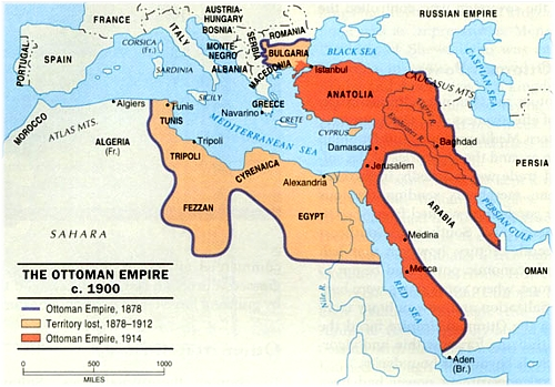 Dissolution of the Ottoman Empire  ThingLink