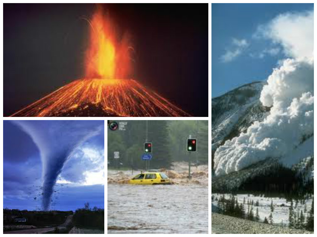 natural disasters collage by jadon