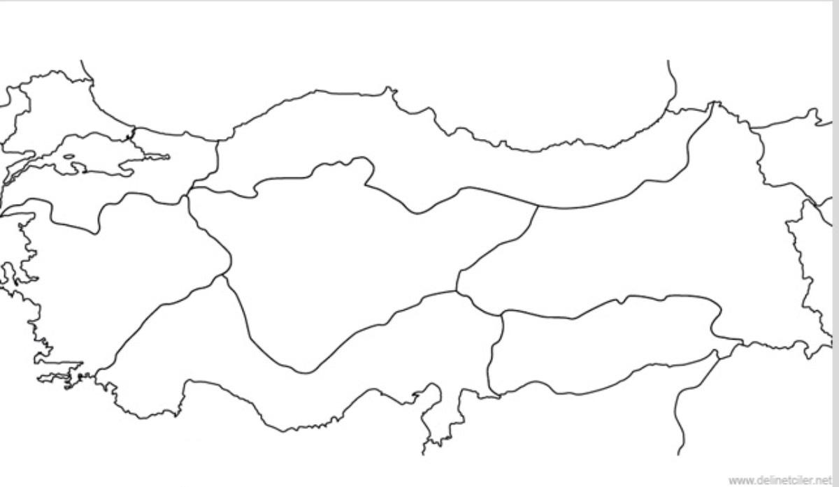Turkiye Ekonomik Faaliyetler Haritasi
