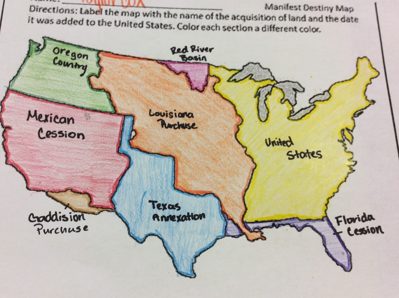 us completed manifest destiny at a great cost to mexico Which president initiated conflict with both great britain and mexico, successfully negotiating treaties with both a) john tyler b) james k polk.