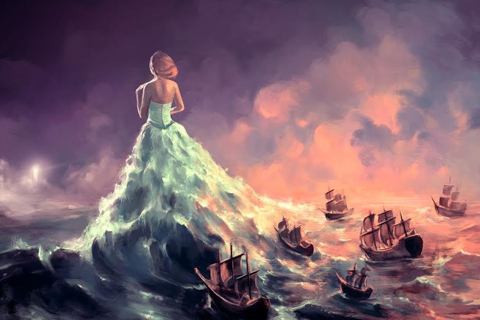The Greek Goddess Calypso