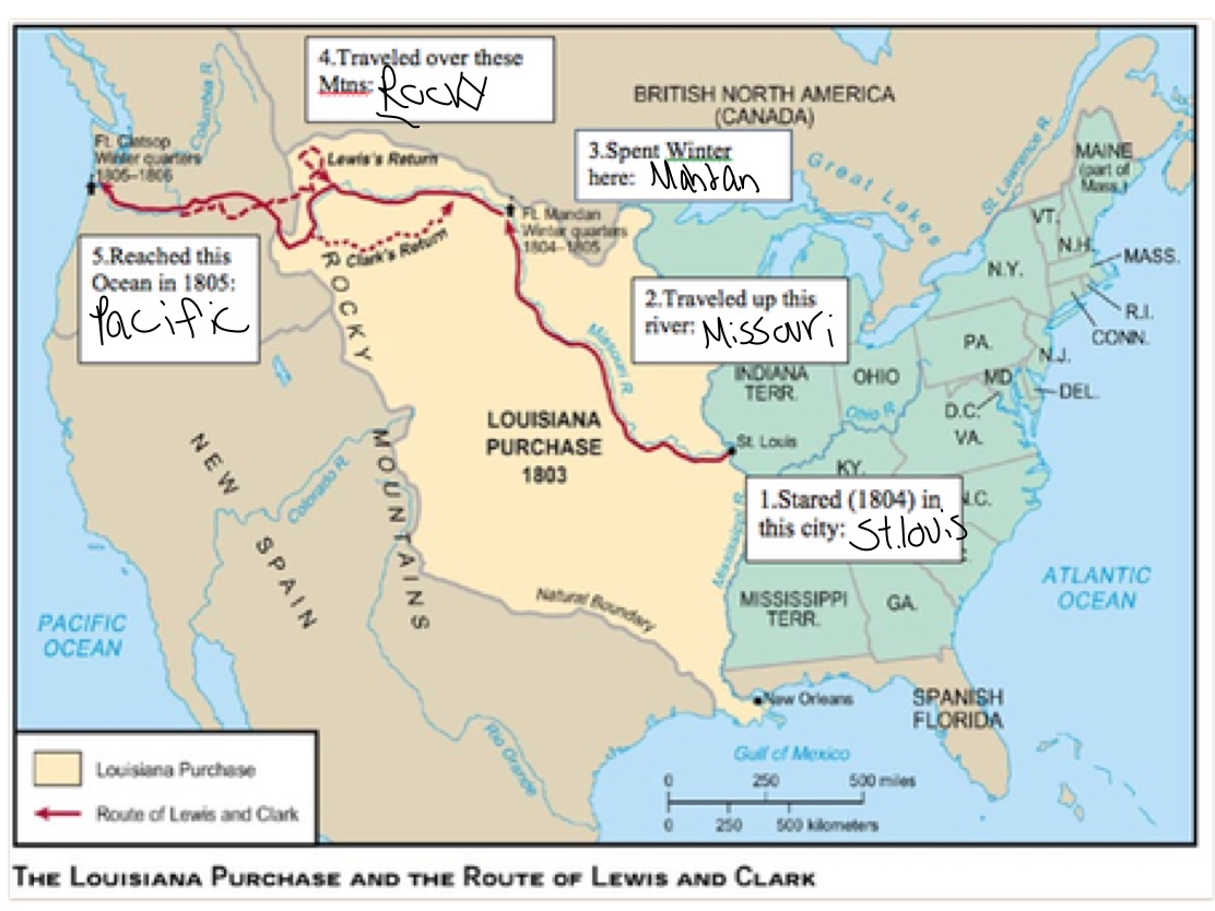 louisiana purchase and lewis and clark Start studying louisiana purchase/ lewis and clark expedition learn vocabulary, terms, and more with flashcards, games, and other study tools.