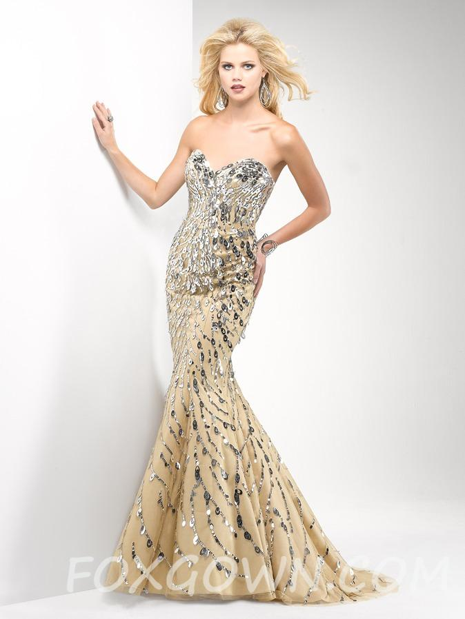 Fit and Flare Prom Dresses