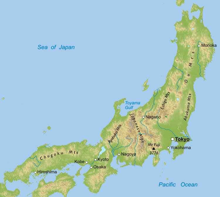 Japan ThingLink - Japan map mount fuji