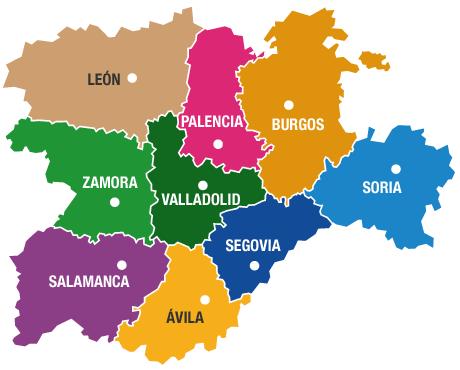 Castilla y León: monumentos   ThingLink
