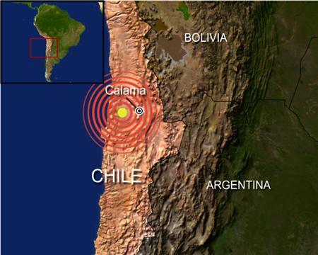 1960 Chile Earthquake Map.1960 Chilean Earthquake
