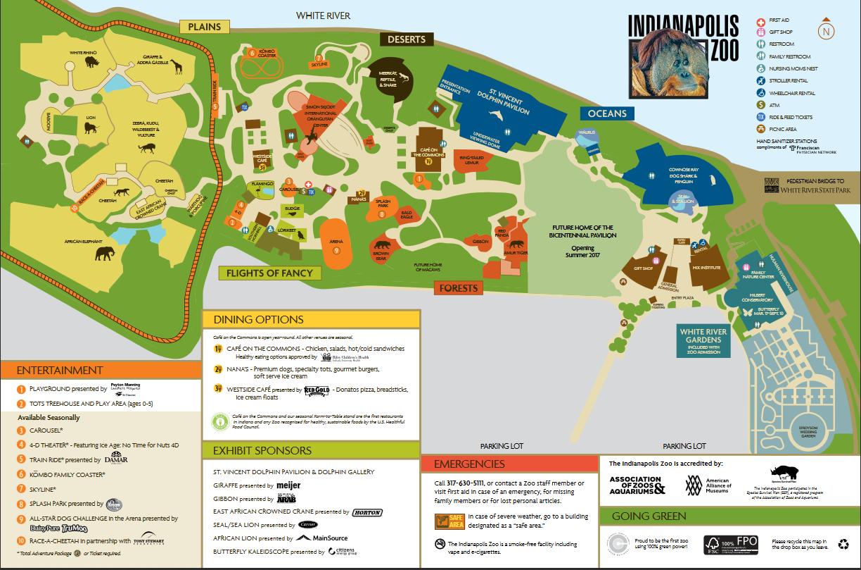 Der Indianapolis Zoo Schnitzeljagd ThingLink