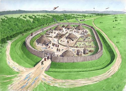 Risultati immagini per the celts villages