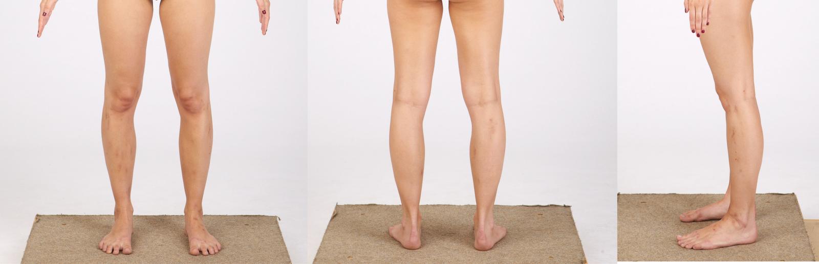 piernas y los pies
