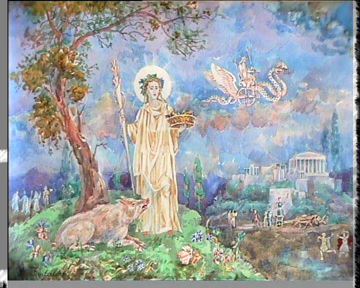 One Symbol That Represents The Greek Goddess Demeter Is T Thinglink