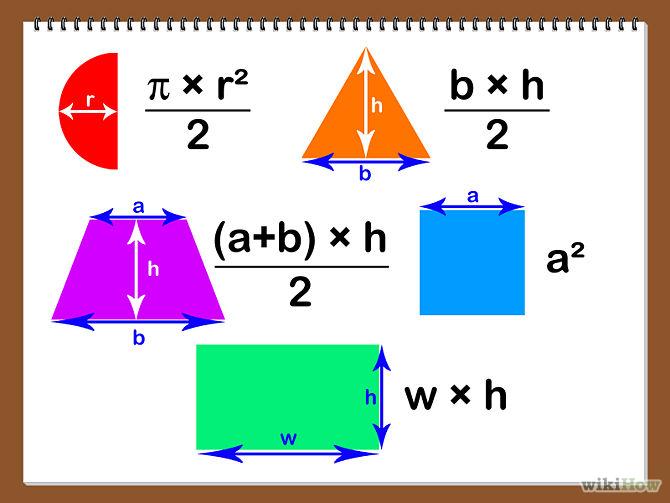 how do we solve area of triangle area of a rectangle e