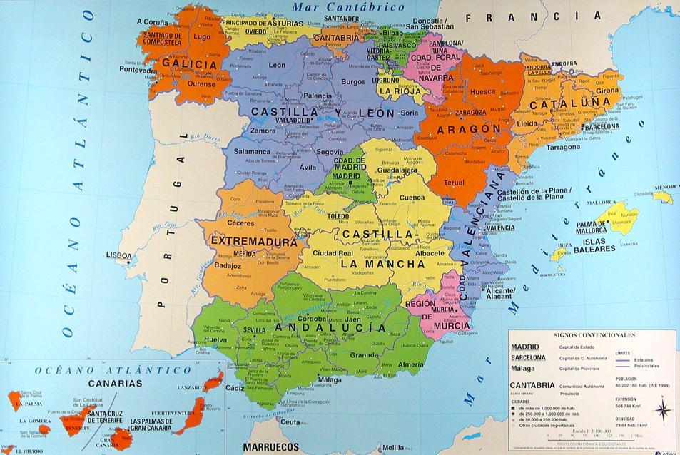 Www Mapa De Espana.Lola Sanchez Mapa De Espana