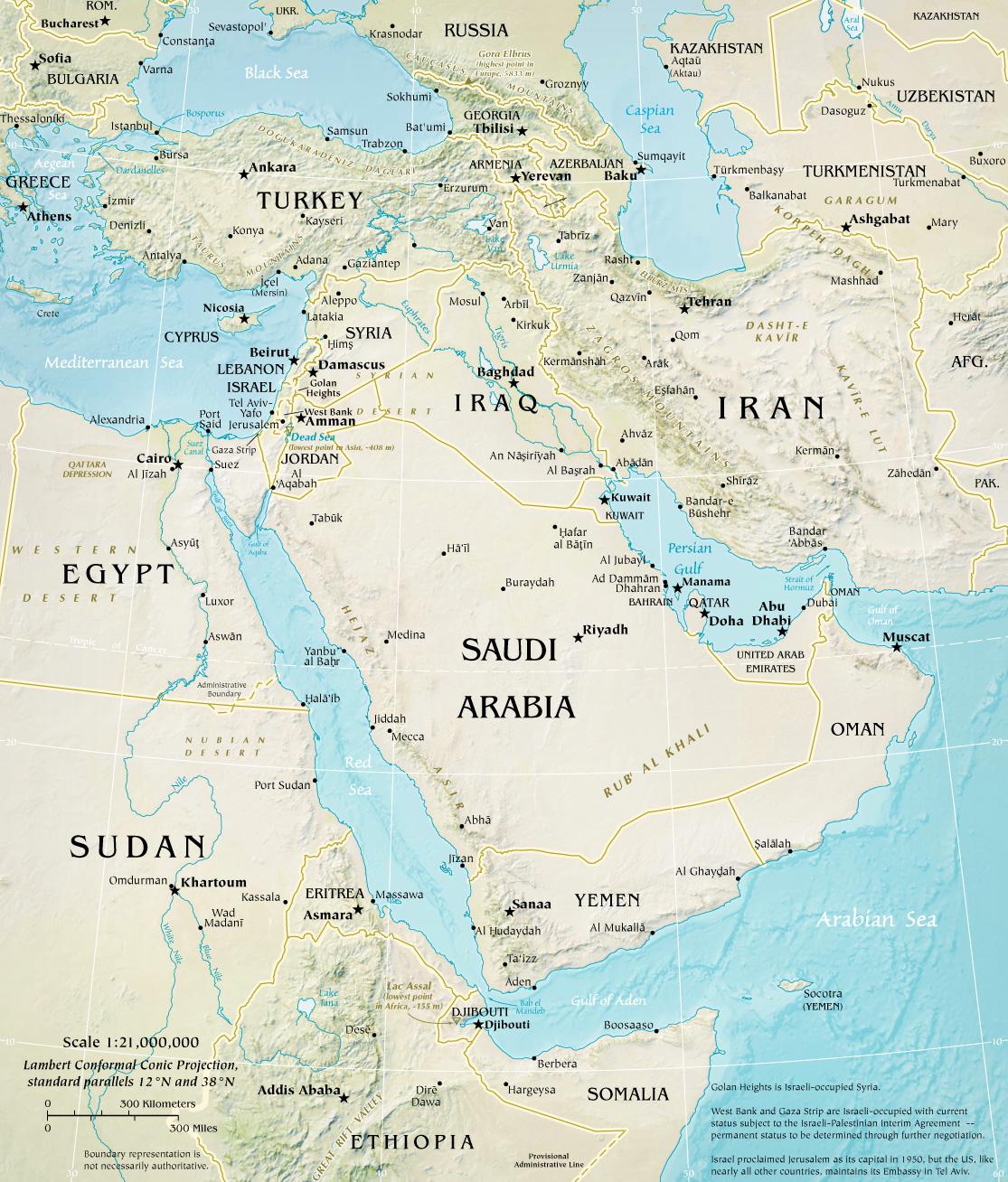 Oriente Medio  ThingLink