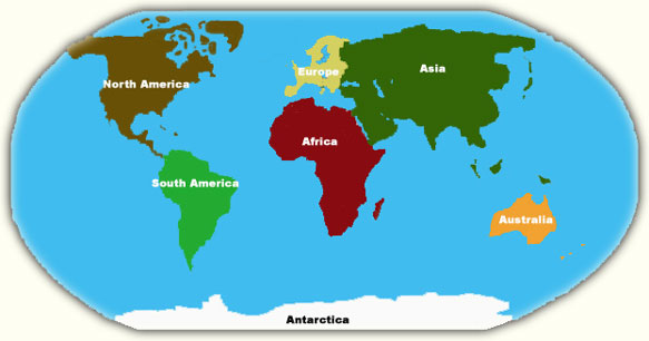 Antarctica Is One Of The Largest Continents ThingLink - Where is antarctica on the map
