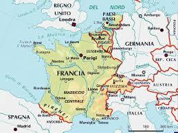 Cartina Nord Francia.Cartina Francia