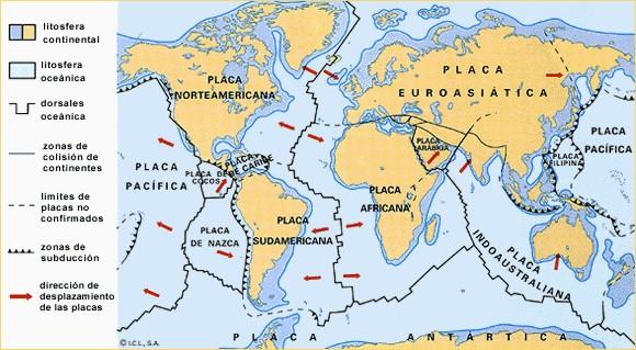 La Placa De Nazca Es Una Placa Tectonica Convergente E