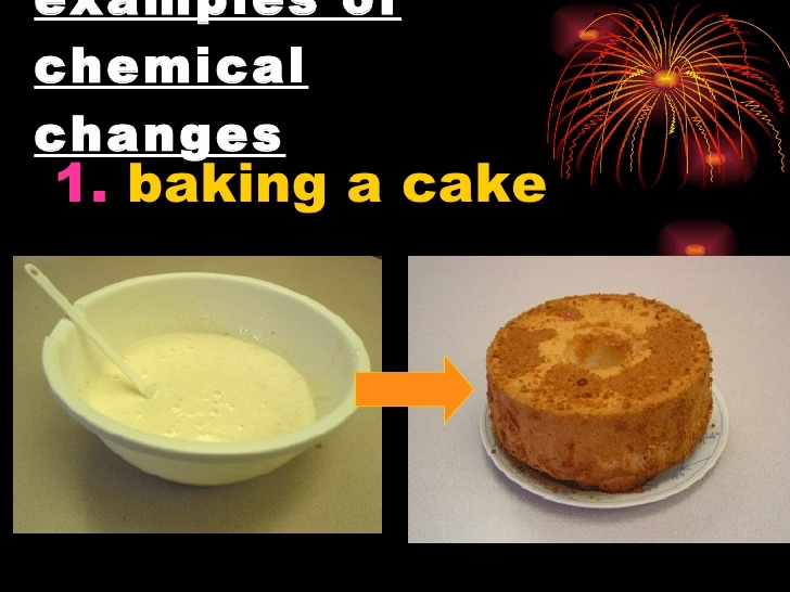Is Cake Baking A Chemical Change