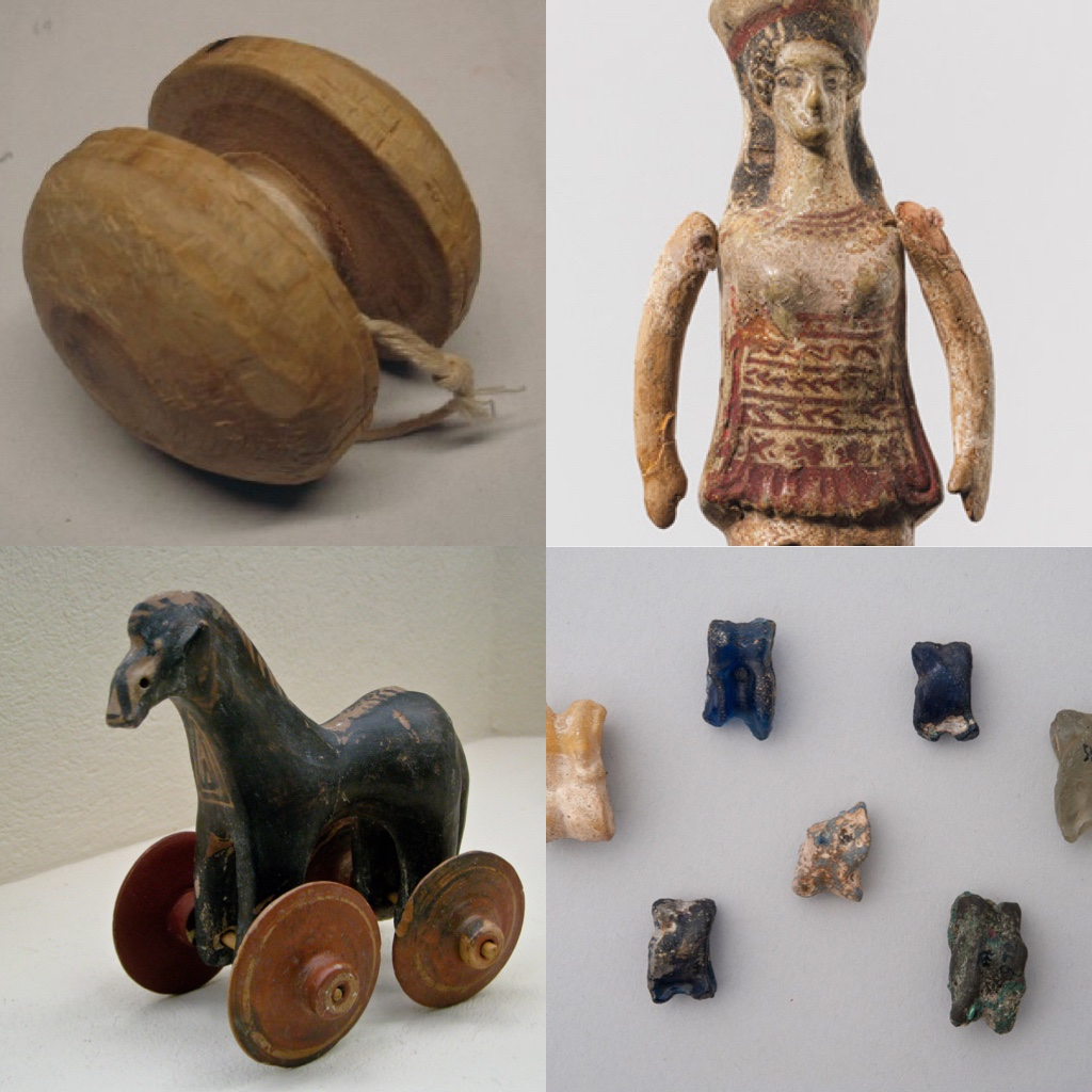 Greek toys and games