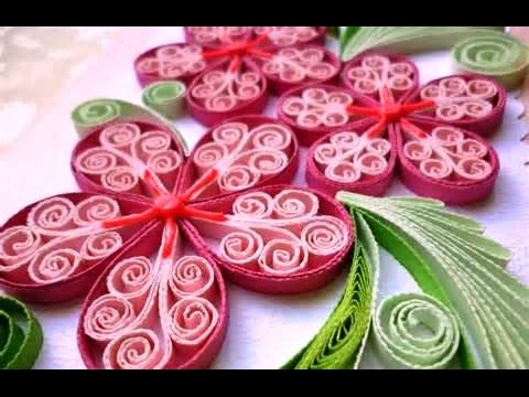 Paper craft how to make paper quilling rose easy simp thinglink mightylinksfo