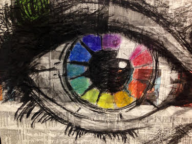 Color Wheel Eye