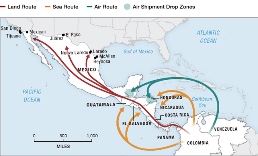 drugs in caribbean essay This essay identifies eight key trends or patterns that american and caribbean countries would not produce such large drug trafficking and organized crime.