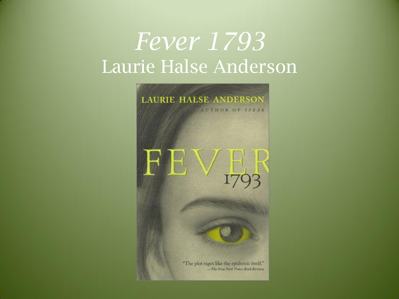 essay questions fever 1793